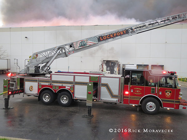 Lockport Township FD ladder truck