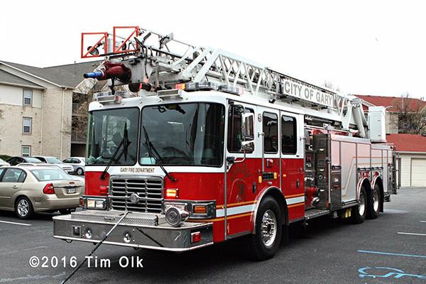 Gary fire truck