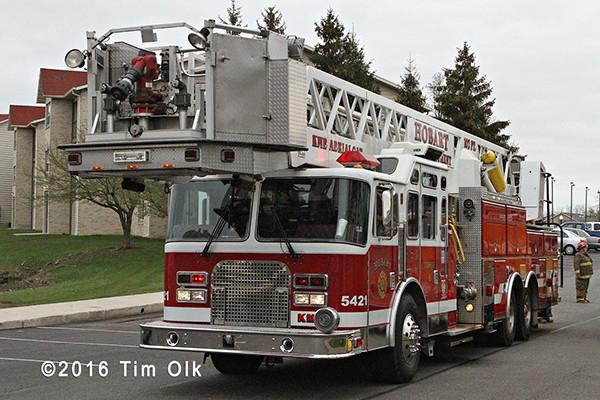 Hobart fire truck