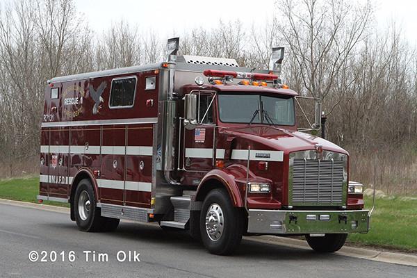 Merrillville fire truck