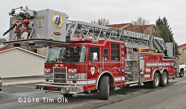 Schererville fire truck