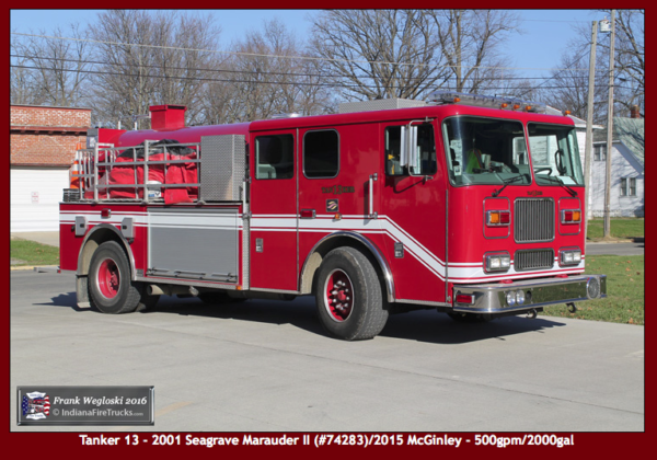 Lynn Fire Department Tanker 13