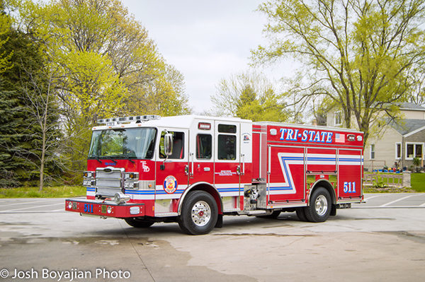 new fire engine for the Tri-State FPD