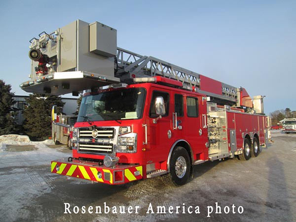 Rosenbauer Commander fire truck