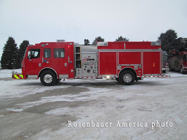 Rosenbauer America fire engine