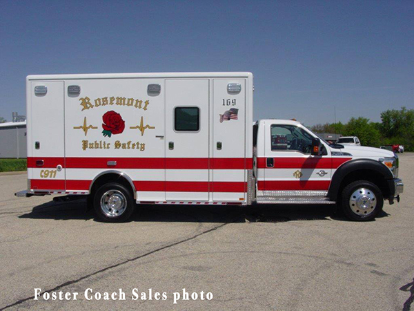 Rosemont Public Safety Department  ambulance