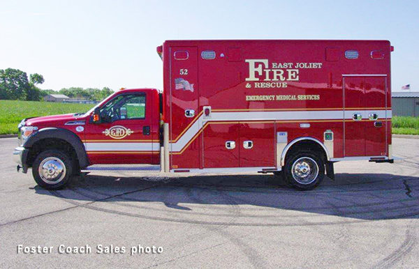 East Joliet FPD ambulance