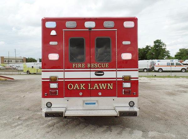 Oak Lawn Fire Department Medic 1 ambulance