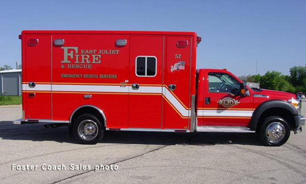 Type I ambulance on Ford F450 chassis