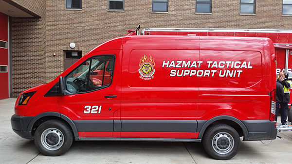 New MABAS Division 21 HAZMAT Decon Support Unit