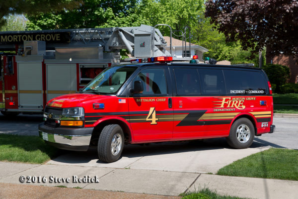 Morton Grove FD Battalion 4