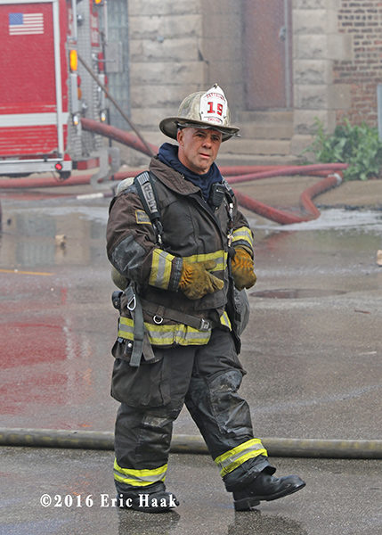 Chicago FD Battalion 19 chief