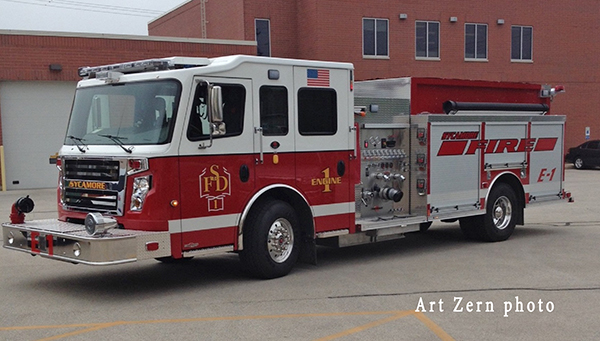 Sycamore FD fire engine