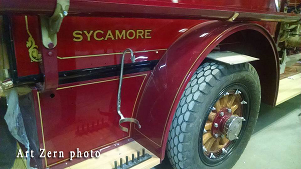 1923 Stutz fire engine restored for the Sycamore Fire Departmen