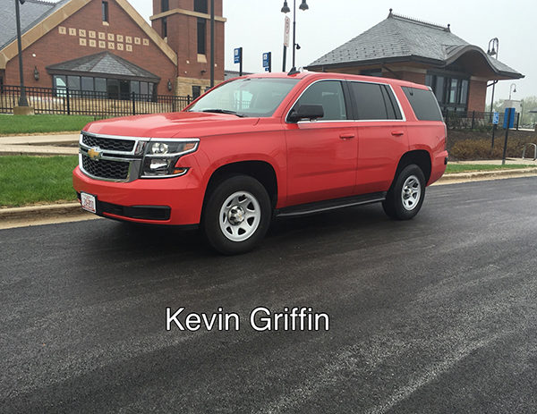 New car for the Tinley park FD chief