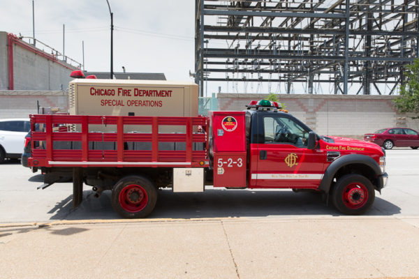 Chicago FD Special Operations Compressor Unit 5-2-3