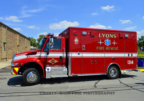 Lyons Fire Department medic unit