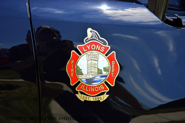 Lyons FD decal