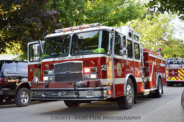 Cicero fire engine