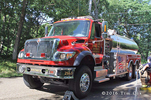 Antioch Fire Department tender