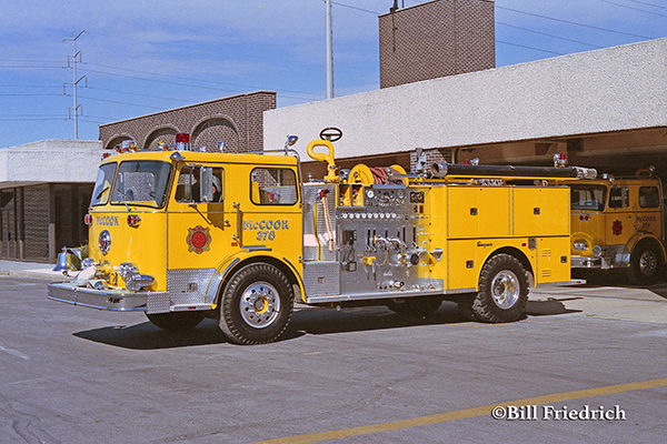 McCook FD Engine 378