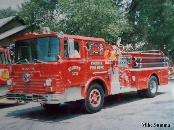 Phoenix Fire Department history