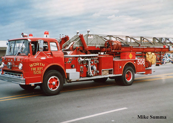 Worth Fire Department history