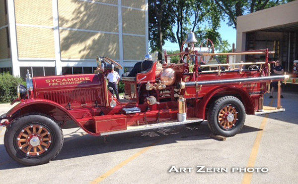 1923 Stutz fire engine