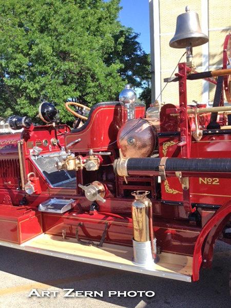 1923 Stutz fire engine