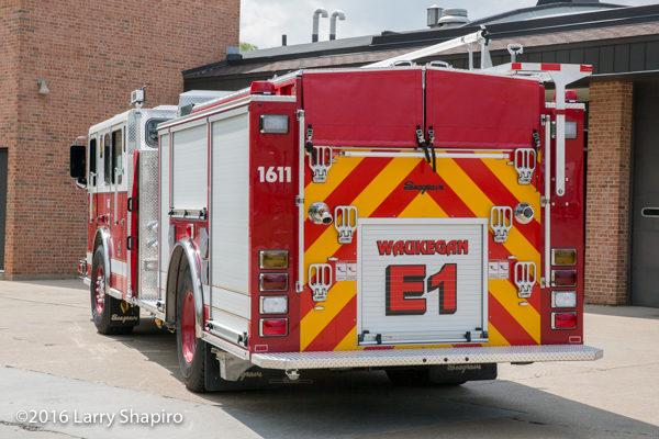 2016 Seagrave Marauder II fire engine