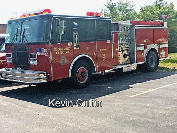 Moraine Valley Fire Science Program fire truck