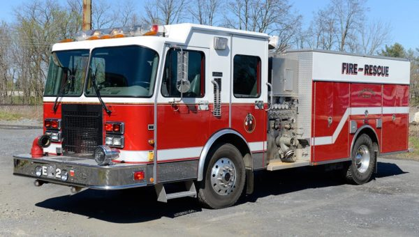 used fire engine for the Stone Park Fire Department