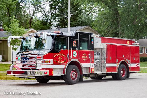 Schaumburg FD Engine 53