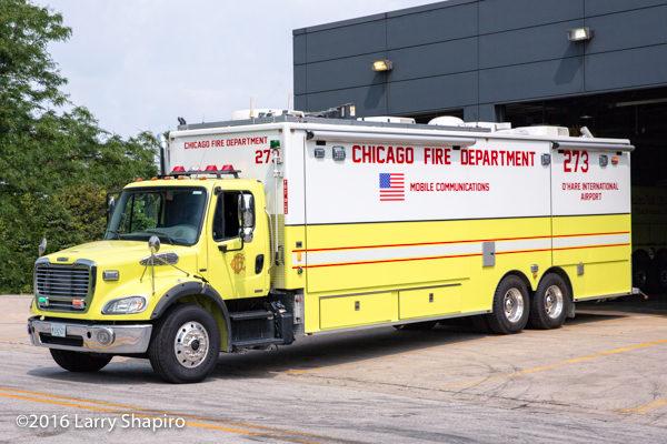 Chicago FD Comm Van 2-7-3
