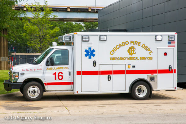 Chicago FD Ambulance 16