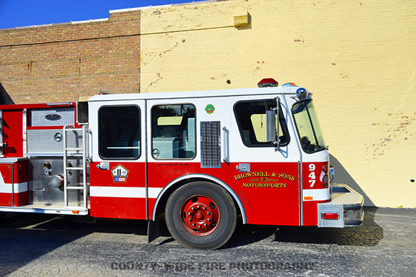 new life for old E-ONE fire engine