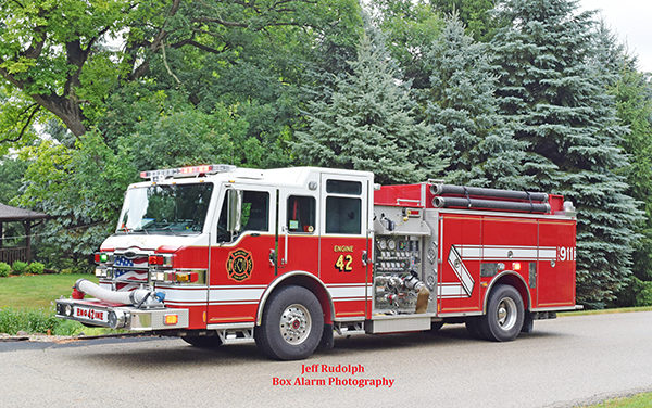 McHenry Township FPD engine