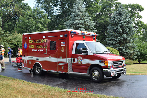 Richmond FD ambulance