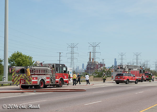 in-line pumping operation in Chicago