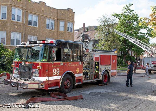 Chicago FD Engine 99