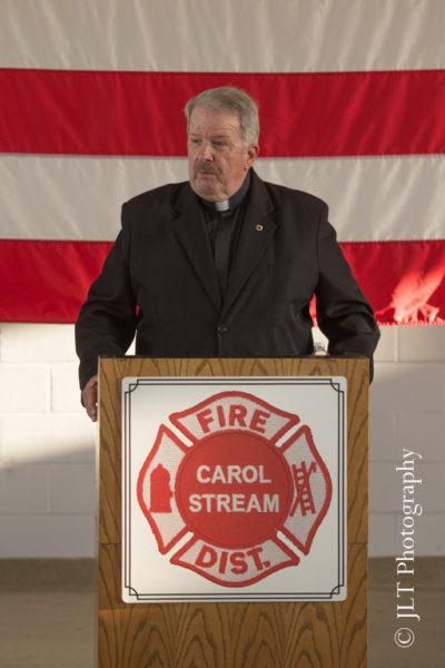 Chicago FD Chaplain Fr Mulcrone