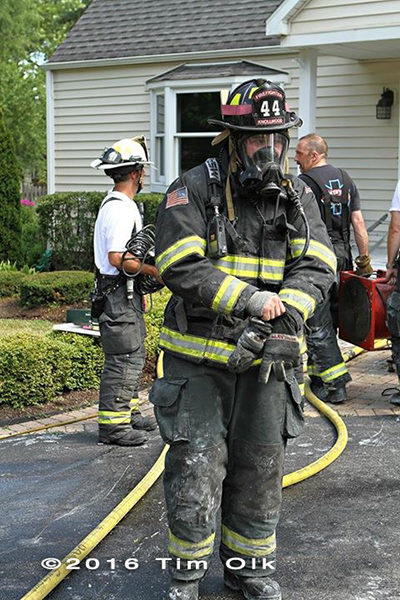 firefighter after fire