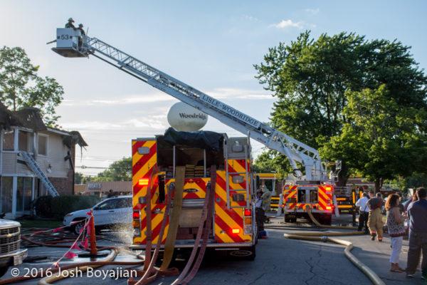 Lisle-Woodridge FPD fire truck