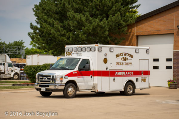Maywood FD Ambulance 500