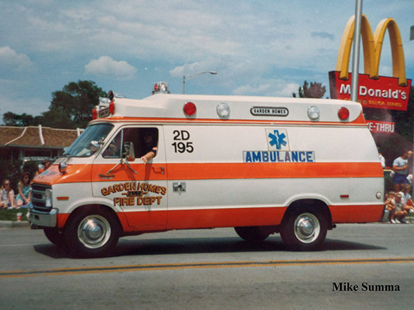 vintage Dodge ambulance