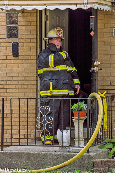 Stickney FD Deputy Chief Jeff Boyajian