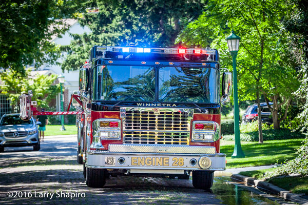 Winnetka FD Engine 28 Spartan Smeal