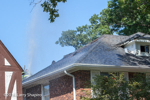 vent holes in roof after fire