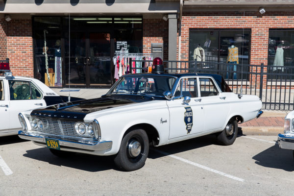 antique Illinois State Police car