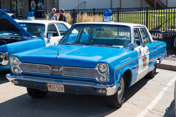 vintage Chicago Police car